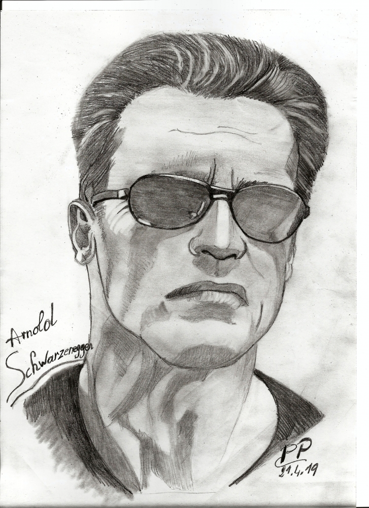 Arnold Schwarzenegger by Patoux